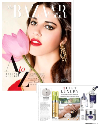 HARPER'S BAZAAR FEATURES THE REVITALIZING DIAMOND INFUSED HYDRA-PM NIGHT CREAM COMPLEX BY FOREVER FLAWLESS