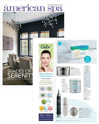 AMERICAN SPA MAGAZINE FEATURES THE PLATINUM DIAMOND COLLECTION BY FOREVER FLAWLESS by FOREVER FLAWLESS