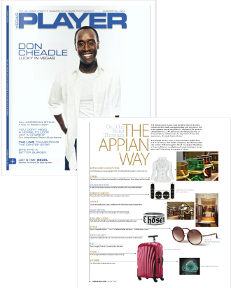 VEGAS PLAYER MAGAZINE FEATURES THE EXCLUSIVE BLACK DIAMOND ANTI-AGING COLLECTION BY FOREVER FLAWLESS